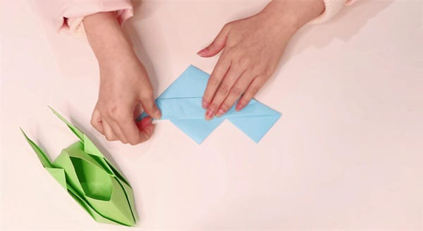 Spaceship Origami Tutorialnum