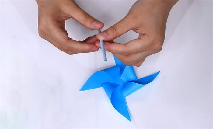 Windmill origami tutorialnum