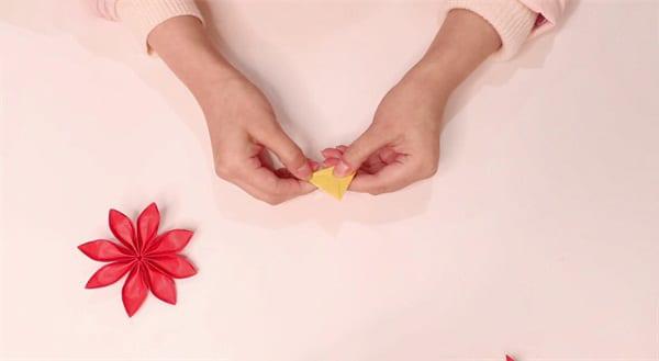 Eight Petal Flower Origami Tutorialnum