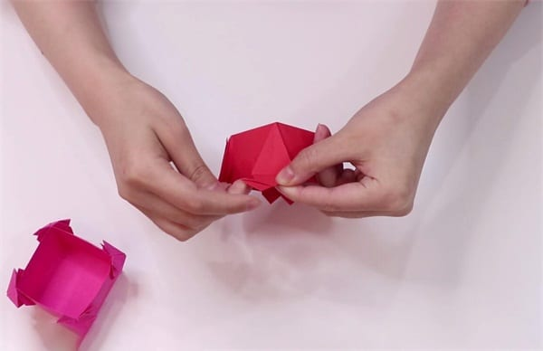 How to Fold Love Paper Boxesnum