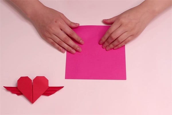 How to fold love with wingsnum