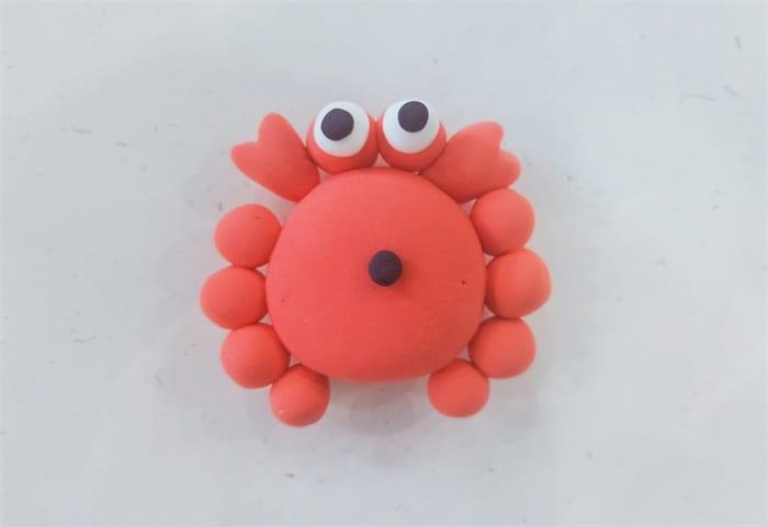 Super light clay crab tutorialnum