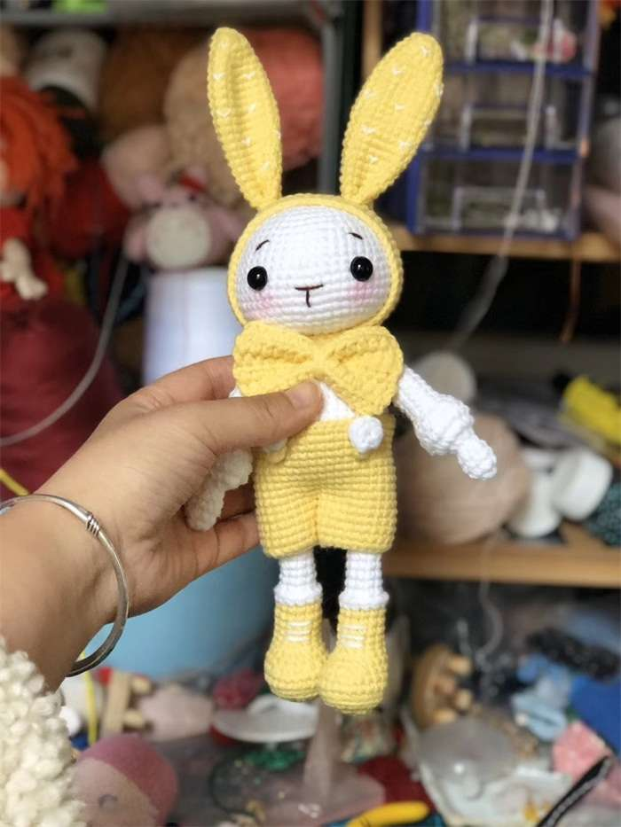 Anthony Rabbit Knitted Dollnum