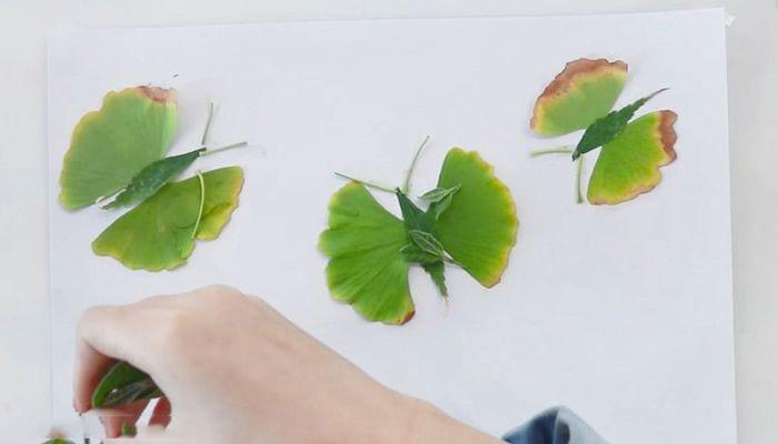 Butterfly Leaf Sticker Tutorialnum